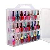 48 Botellas Almacenamiento Organizador de Esmalte de Uñas para esmaltes de uñas de Dawn...