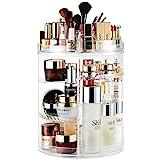 AMEITECH Organizador del Maquillaje, 360 Grados Que Giran la Joyería Ajustable y el...