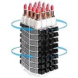 JackCubeDesign 360 Rotating Lipstick Clear Acrylic Display Rack Organizador Stand Lazy...