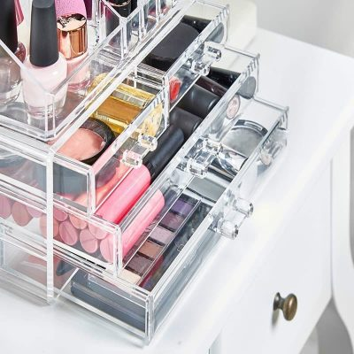 caja organizadora maquillaje