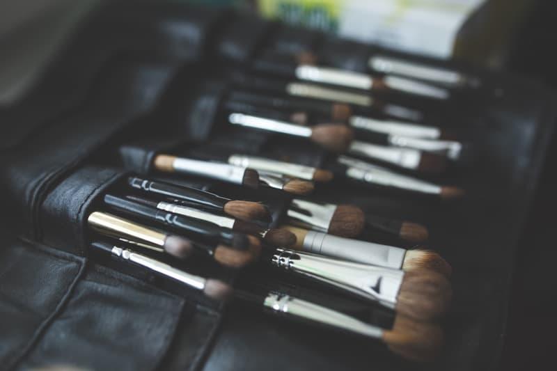 organizador brochas maquillaje